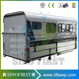 Angle Horse Float, Extened Horse Float Trailer, Horse Box Trailer pictures & photos