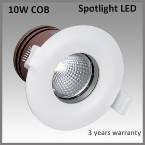10W COB CREE LED Recessed Lighting Fixtures (BSCL84)