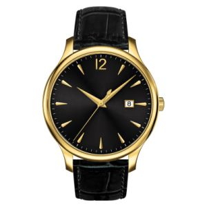Mens Ss Watch Yellow Gold Placted pictures & photos
