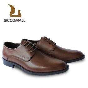 Soodmall Korean Wedding Shoes Men′s Brown Leather Shoes (E3331ZZH)