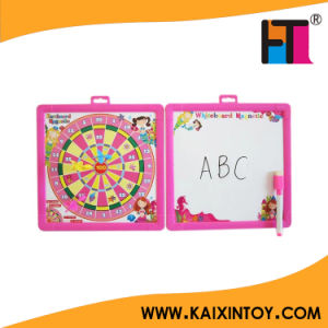 Promotion Kids Magnetic Drawing Board with Dart Board Target pictures & photos