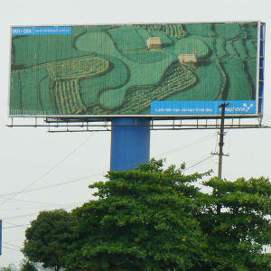 Outdoor Aluminium Tri-Vision Billboard with Pole (F3V-131S) pictures & photos