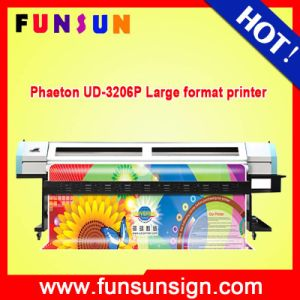 Phaeton Ud-3206p 3.2m/10FT Large Format Digital Solvent Printer (4 or 6 STP510/35pl, Heavy duty) pictures & photos
