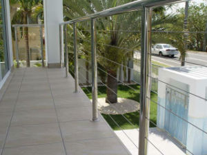 Simple Design for Your Balcony Cable Railing, String Balcony Railing