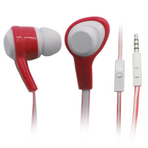Flat Cable/Super Bass Headphones Earphone for Samsung/iPhone pictures & photos