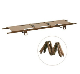 Double Folded Army Type Army Stretcher with CE and ISO pictures & photos