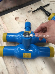 Dn50 20k Floating Ball with Lock Welded Ball Valve (Q341F-20K-2) pictures & photos