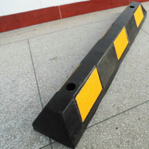 1.65m Long Rubber Car Parking Safety Wheel Stopper pictures & photos