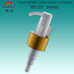 Modern Design Plastic Cleansing Oil Pump with Aluminum Collar pictures & photos