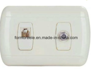 TV Socket for South America Market (Peru) pictures & photos