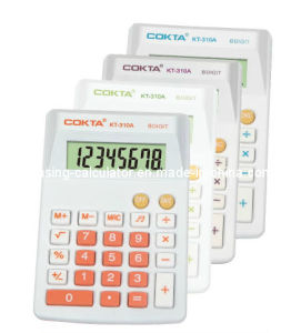 8 Digits Colorful Gift Calculator, Mini Pocket Size Calculator (KT-310A)