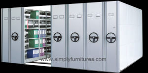 Steel Office Mobile Docment Storage Cabinet / Racking System pictures & photos