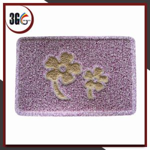 2017 Hot Selling 3G PVC Anti-Slip Backing Design Mat (3G-W1209S) pictures & photos