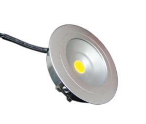 3W LED Down Light with Brushed Aluminium Material Envirmental pictures & photos