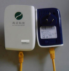 Anti-Interference Powerline Adapter 200Mbps PLC/Model (PEB-200A)