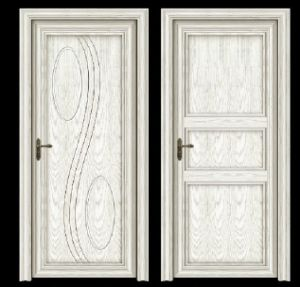 Elegant Design Aluminum Wood Door, Solid Core Door, Aluminum Door ...