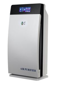 Air Purifier with LCD Touch Screen Floor Standing for Office pictures & photos
