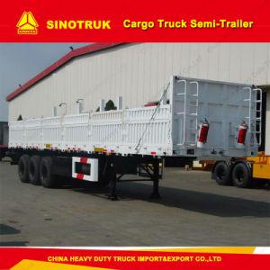 40FT Tri-Axle Heavy Duty Cargo Truck Utility Semi Trailer Truck Trailer pictures & photos