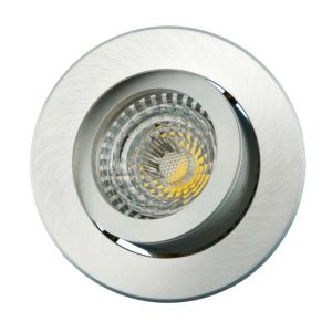 Lathe Aluminum GU10 MR16 Round Tilt Recessed LED Spotlight (LT2200) pictures & photos