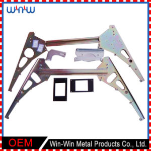 Precision Small Curved Extrusion Aluminium Stamping Parts for Machine pictures & photos
