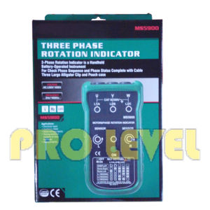 Portable Three Phase Rotation Indicator (MS5900) pictures & photos