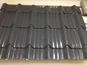Lamina Corrugada Prepintado PARA Techo Metalico De Color Gris Steel Coil pictures & photos