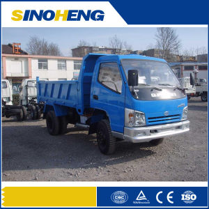 China 4t Small Duty Dump Tipper Truck for Sale pictures & photos