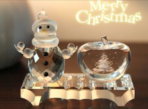 Beautiful Promotional Crystal Craft for Christmas Gift (ks25211) pictures & photos