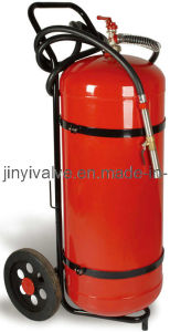 50kg Dry Powder Wheeled Fire Extinguisher (JY2012-0057)