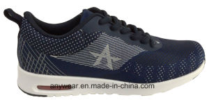 Ladies Women Woven Footwear Comfort Walking Sports Shoes (W-16614) pictures & photos