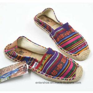 New Style Comfort Women Jute Sole Shoes (ET-WT170447W) pictures & photos