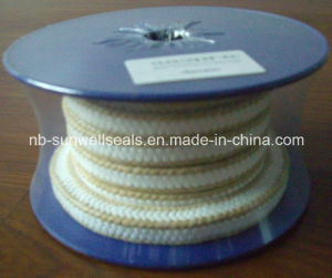 White PTFE Packing with Aramid Corners pictures & photos