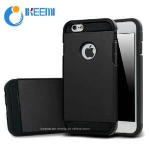 Hot Selling Products 2 in 1 TPU + PC Hybird Slim Armor Case Mobile Phone Cover for iPhone 6 pictures & photos