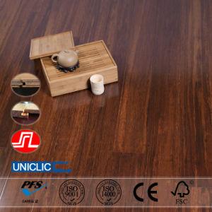 Anti-Slip Pure Green Strand Woven Bamboo Flooring