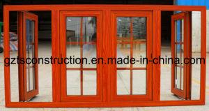 Energy Efficient Glass Window Aluminium Casement Window with Double Glazing pictures & photos