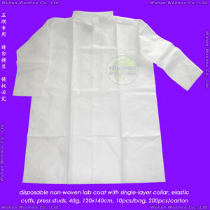 Disposable Polypropylene Lab Coat, Disposable Polypropylene Laboratory Coat pictures & photos