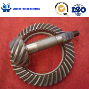 BS2900 Truck Gear Helical Bevel Gear 11/41 Differential Parts Spiral Bevel Gear pictures & photos