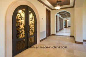 Wrought Iron Front Door for Villa with Super Quality pictures & photos