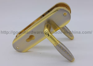 Aluminum Handle on Iron Plate 048 pictures & photos