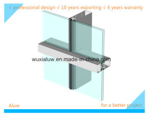 Energy Saving Semi-Hidden Frame Curtain Wall pictures & photos