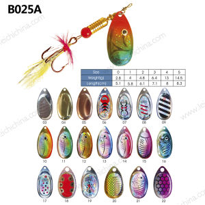 Wholesale Top Quality Metal Spinner Lure pictures & photos