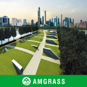 Natural Look Artificial Turf for Landscaping, Landscaping Artificial Grass (AMFT424-40D) pictures & photos