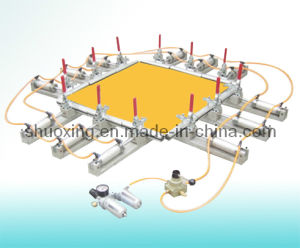 Pneumatic Screen Stretching Machine, Screen Printing Mesh Stretcher pictures & photos