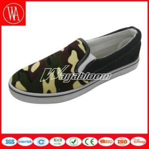 Comfort Canvas Leisure Shoes, Women Flat Casual Shoes pictures & photos