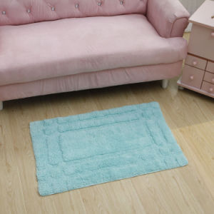 Anti-Slip Cotton Shag Mat/Rug (Cot0040) pictures & photos