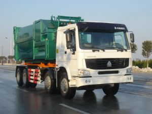 Garbage Truck with Slip on Unit, 31 Ton