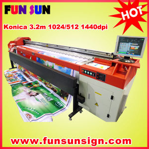 Jhf Large Solvent Plotter with Konica512/1024 14pl Head 1440dpi Large Format Plotter pictures & photos