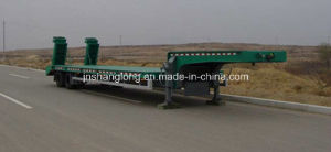 Two Axle Low-Plate Container Semi-Trailer pictures & photos