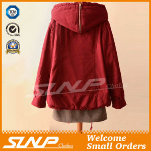 China Factory Cotton Oversize Winter Coat for Women