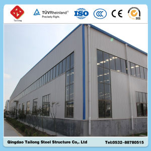 Prefabricated Steel Frame Structure Warehouse Made in China pictures & photos